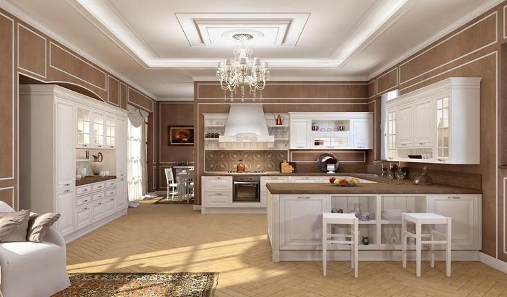 Cucine arredo3 classiche 9 design mon amour - Foto cucine classiche ...