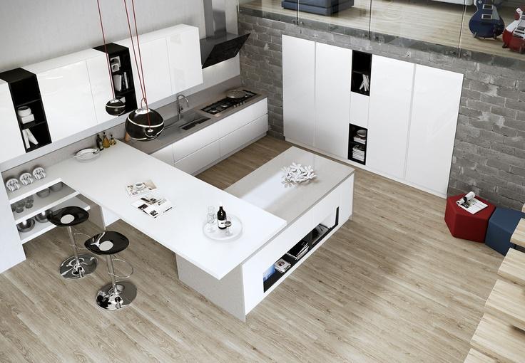 Cucine moderne arredo3 2 design mon amour - Cucine arredo 3 ...