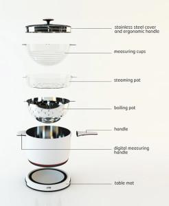 Set pentole Orbit Cookware