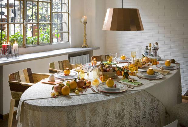 Apparecchiare tavola natale 2013 2 design mon amour - Tavole apparecchiate per natale ...