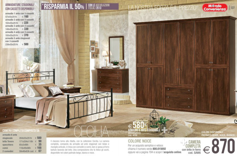 Armadi mondo convenienza 2014 8 design mon amour for Prezzi armadi mondo convenienza