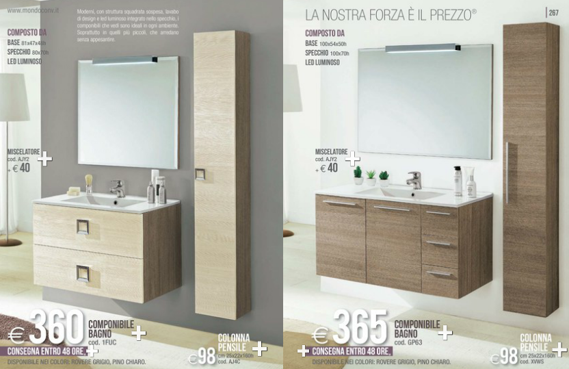 Bagni mondo convenienza 2014 2 design mon amour - Mondo convenienza mobile bagno ...