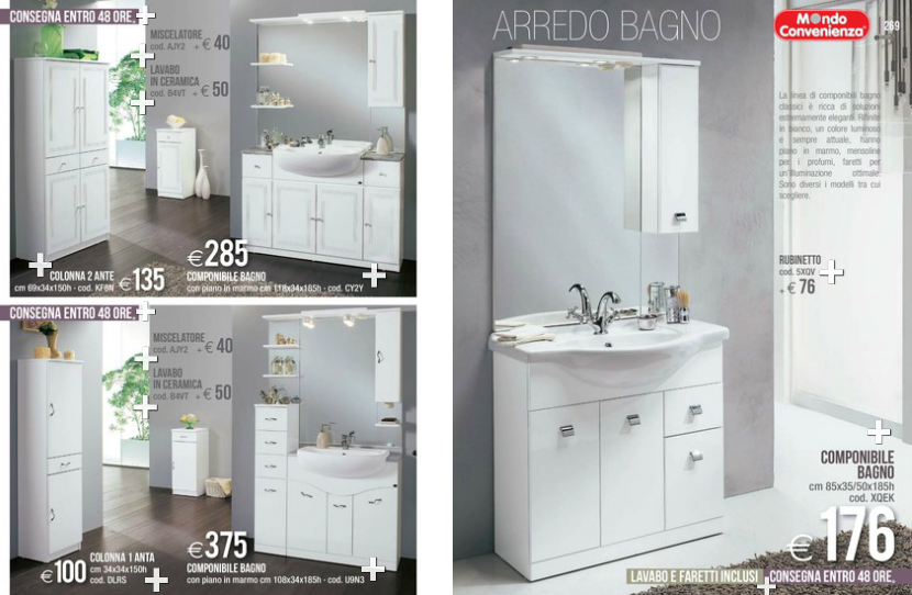 Bagni mondo convenienza 2014 3 design mon amour for Mondo convenienza mobili bagno