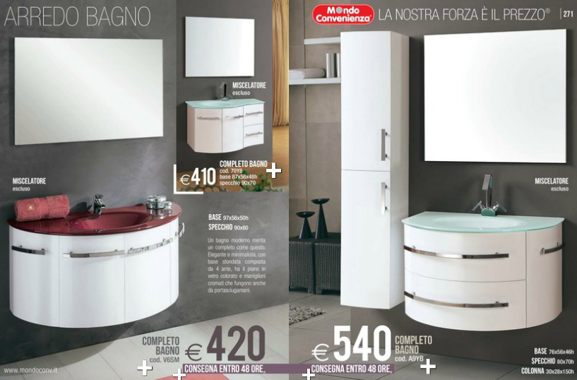 bagni mondo convenienza 2014 (4) | Design Mon Amour