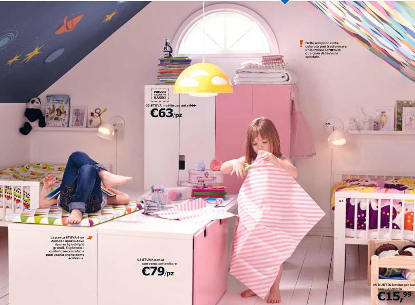 Camere da letto bimbi superiore camerette per neonati for Decorazioni muri stanzette