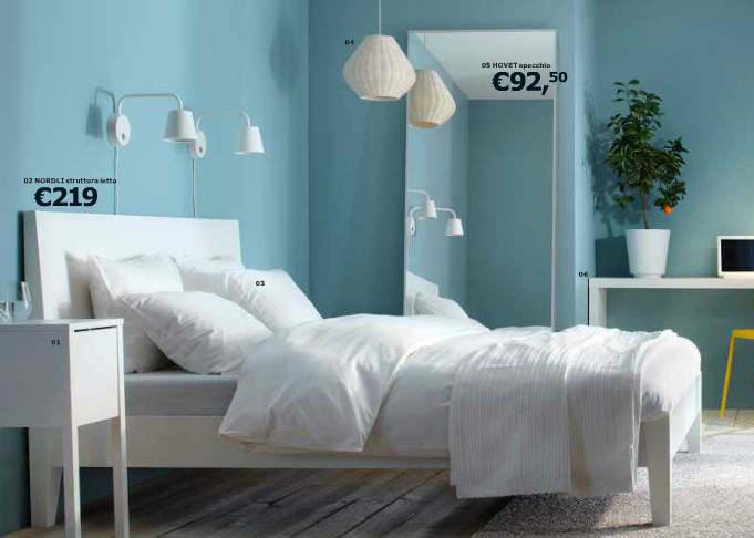 Camere da letto ikea 2014 4 design mon amour for Catalogo ikea letti