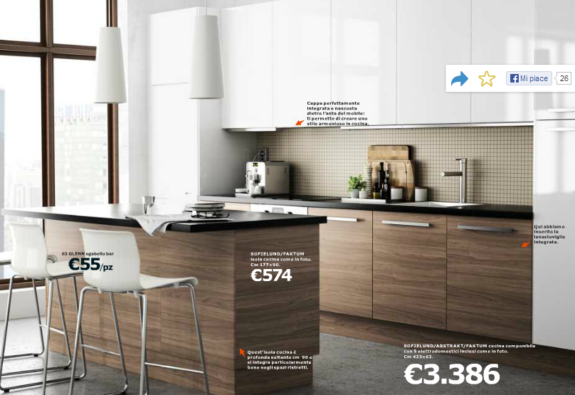 Stunning Www.ikea.it Cucine Catalogo Gallery - Ideas & Design 2017 ...