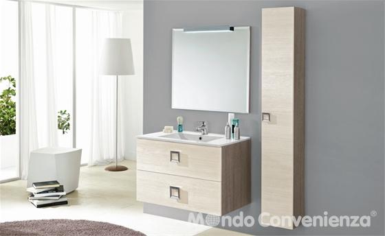 Piastrelle effetto pietra per pareti - Mondo convenienza arredo bagno ...