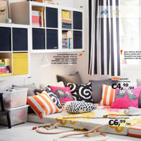 Catalogo soggiorni Ikea 2014