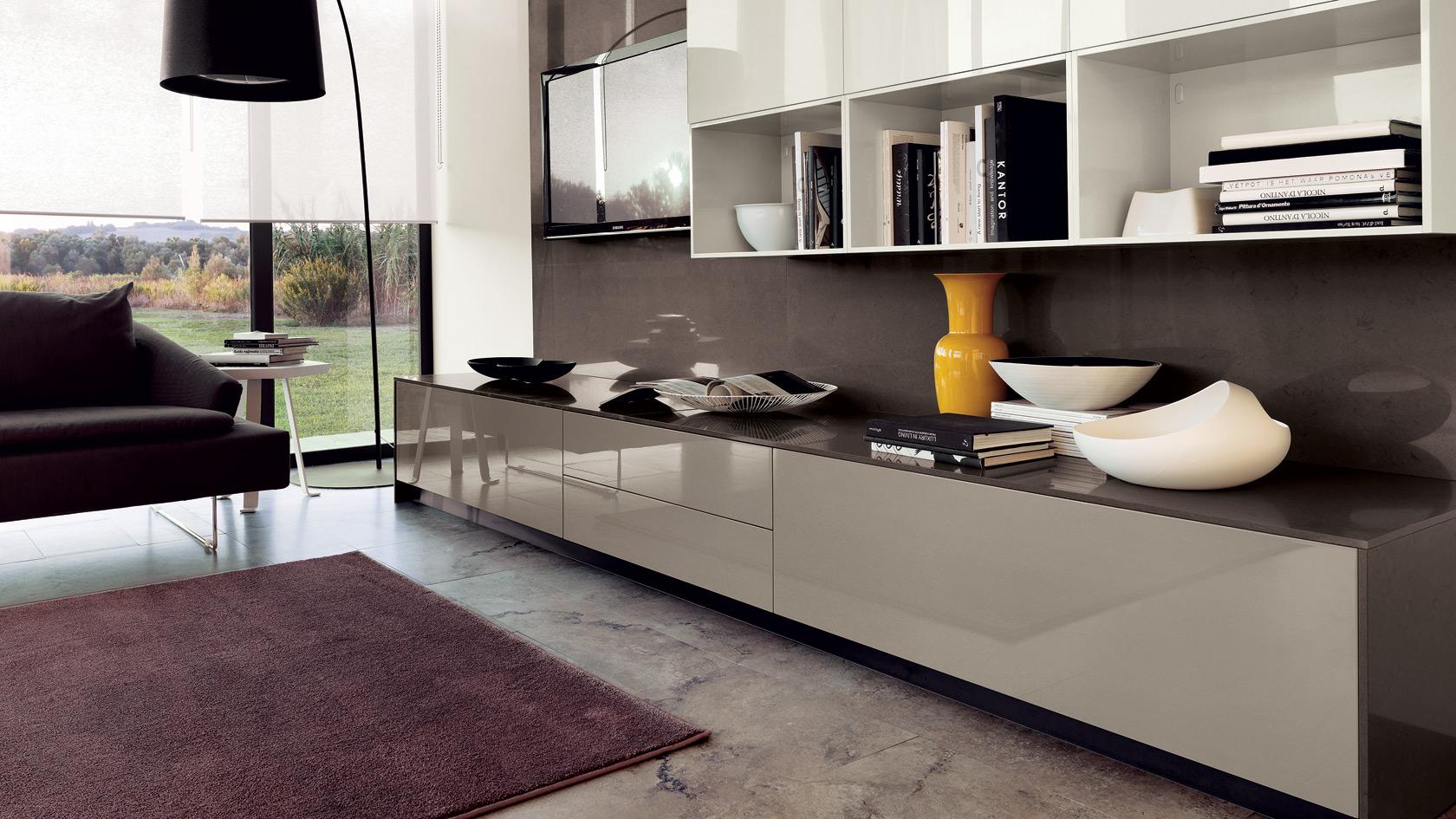 Soggiorni scavolini 7 design mon amour for Cucine living prezzi