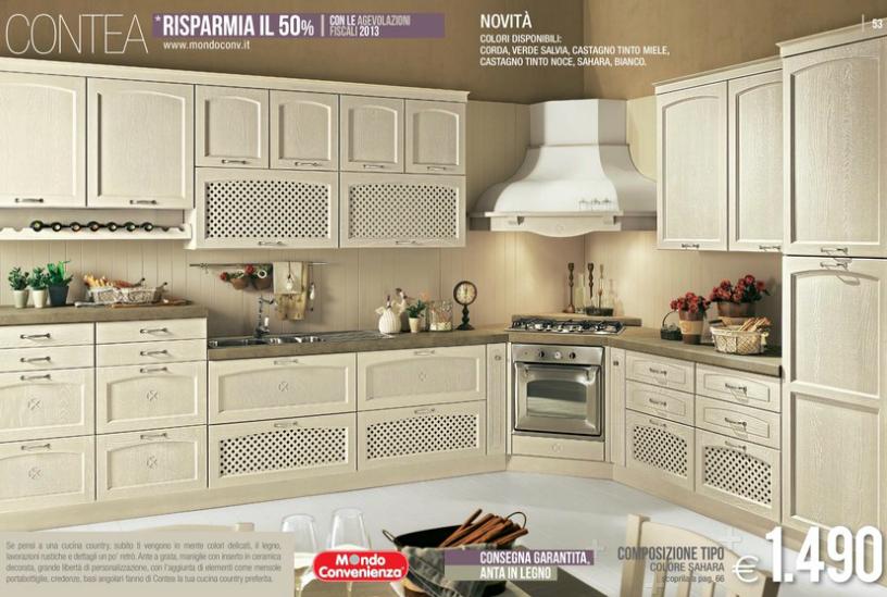 Contea cucine mondo convenienza 2014 11 design mon amour - Cucine in offerta mondo convenienza ...