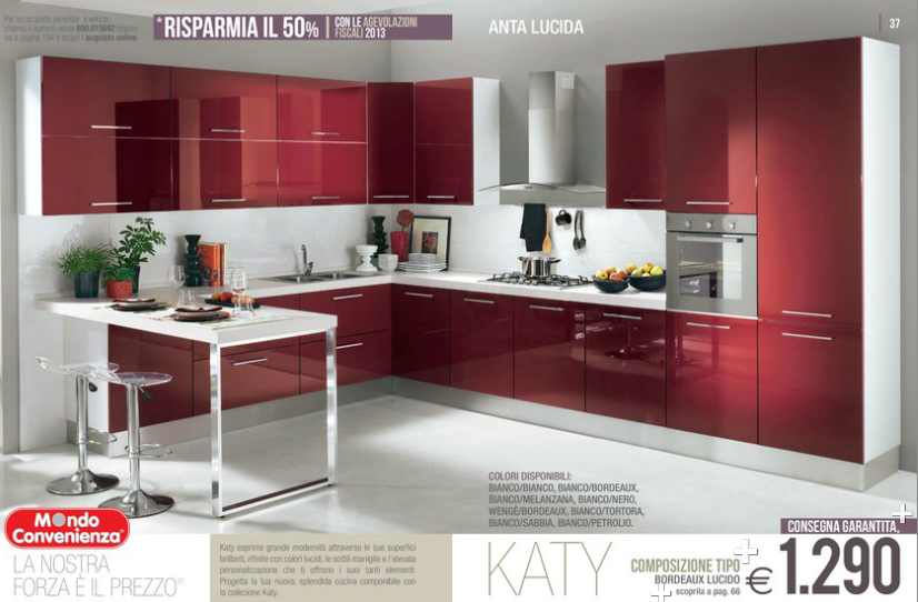 mondo convenienza cucine catalogo 2014 - 28 images - cucine piccole ...