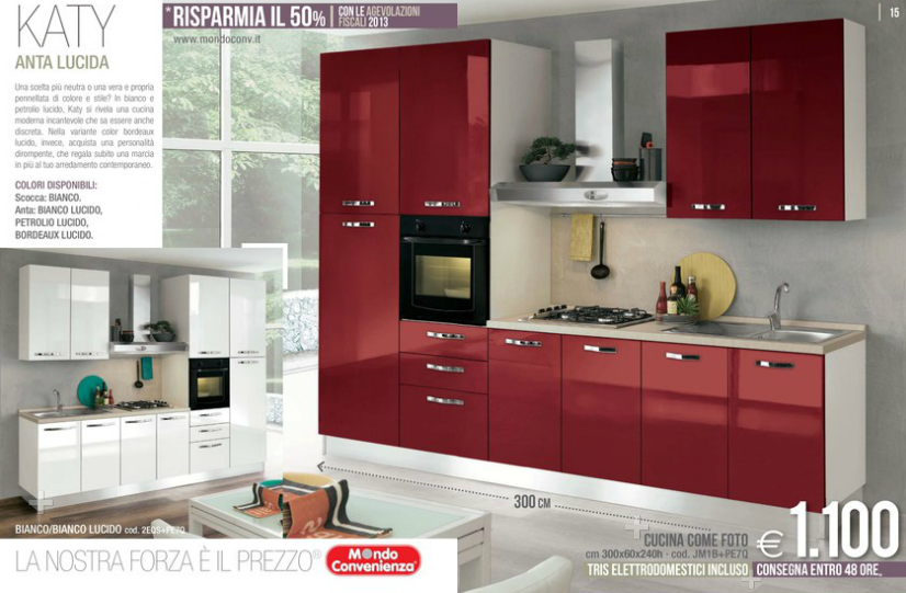 Katy cucine mondo convenienza 2014 5 design mon amour - Mondo convenienza cucine in offerta ...