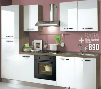 Sara cucine mondo convenienza 2014 3 design mon amour - Cucine stosa prezzi 2014 ...