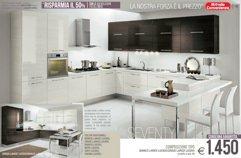 Beautiful Cucine Ad Angolo Mondo Convenienza Images - Amazing House ...