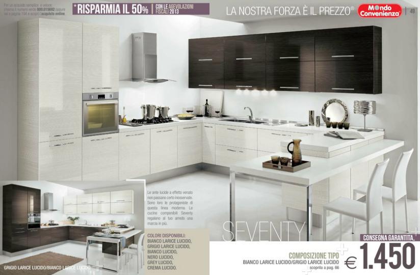 Seventy cucine mondo convenienza 2014 9 design mon amour - Il mondo convenienza cucine ...