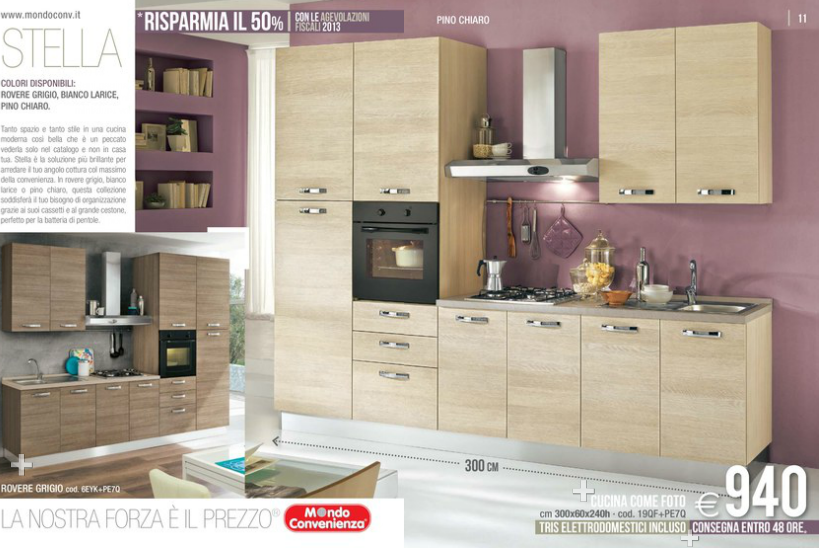 Stella cucine mondo convenienza 2014 4 design mon amour - Outlet del mobile salerno zona industriale ...