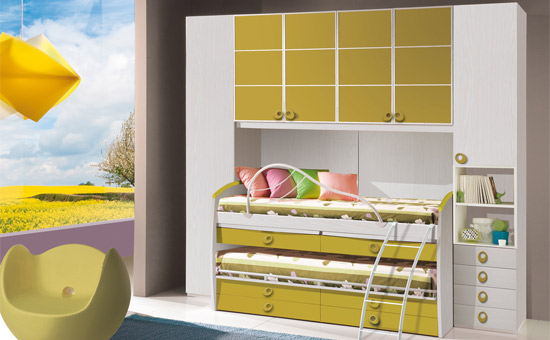 Camerette mercatone uno 2014 catalogo 4 design mon amour - Camerette colorate per bambini ...