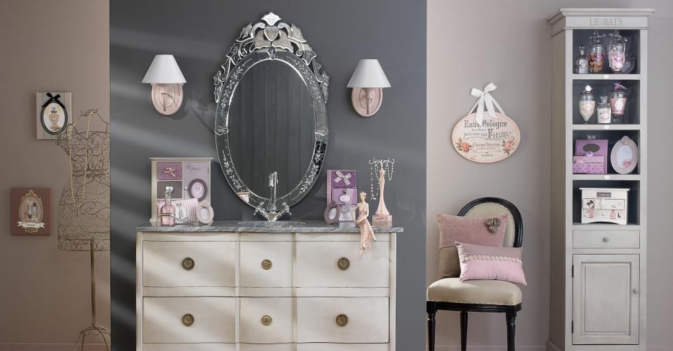 Mobili vintage e inspired idee design 4 design mon amour - Maison du monde specchi bagno ...