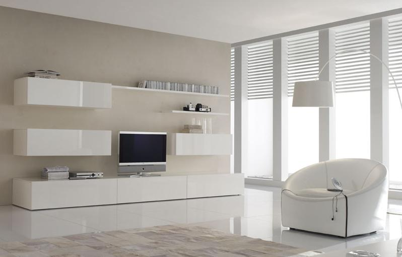 Soggiorni Moderni Di Design Link Parete A Spalla Portante Pictures to ...