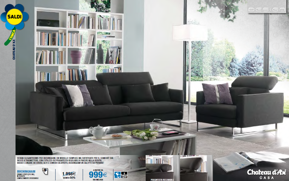 saldi chateau d 39 ax promozioni gennaio 2014 9 design mon amour. Black Bedroom Furniture Sets. Home Design Ideas