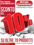 saldi mondo convenienza promozione gennaio 2014  (2)