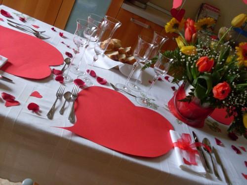 San valentino 2014 come apparecchiare la tavola 3 design mon amour - Idee tavola san valentino ...