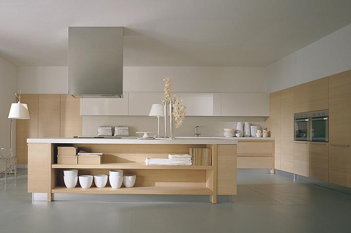 Cucine ecosostenibili tendenze design 2014 - Cucine bianche e legno ...