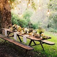Cenare all 39 aperto idee per decorare la tavola for Layout di patio all aperto