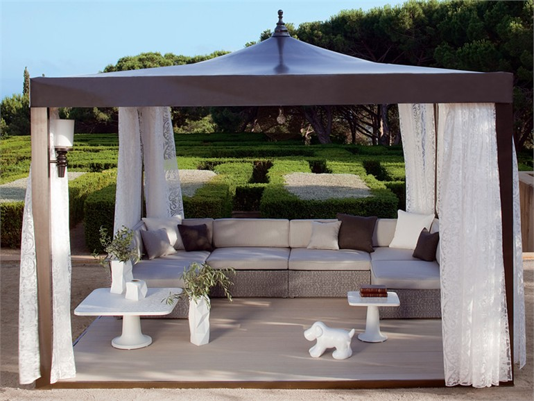 gazebo idee arredamento outdoor e giardino zona relax - Idee Arredo Gazebo