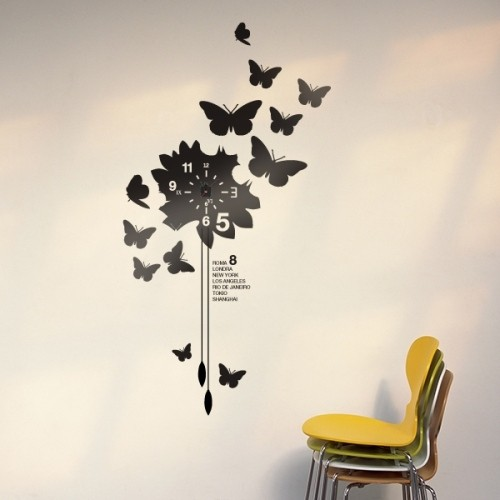 Orologi da parete design idee arredamento 1 design mon for Orologi a parete design