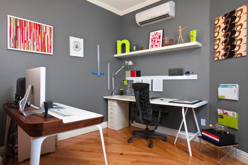 Logiciel Gratuit DArchitecture Intérieure : ufficio a casa idee design arredamento (1)  Design Mon Amour