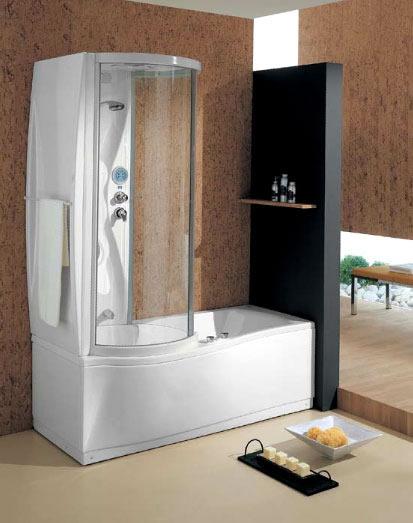 Vasca doccia combinati insieme 1 design mon amour - Vasca da bagno e doccia insieme ...