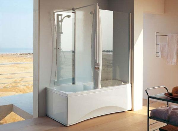 Vasca doccia combinati insieme 8 design mon amour - Vasca da bagno doccia ...