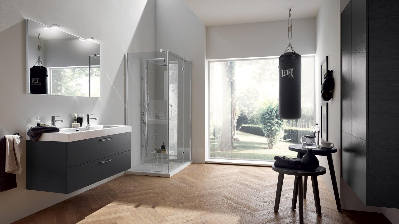 Design Bagno 2015 : Grey and White Bathroom Design Ideas