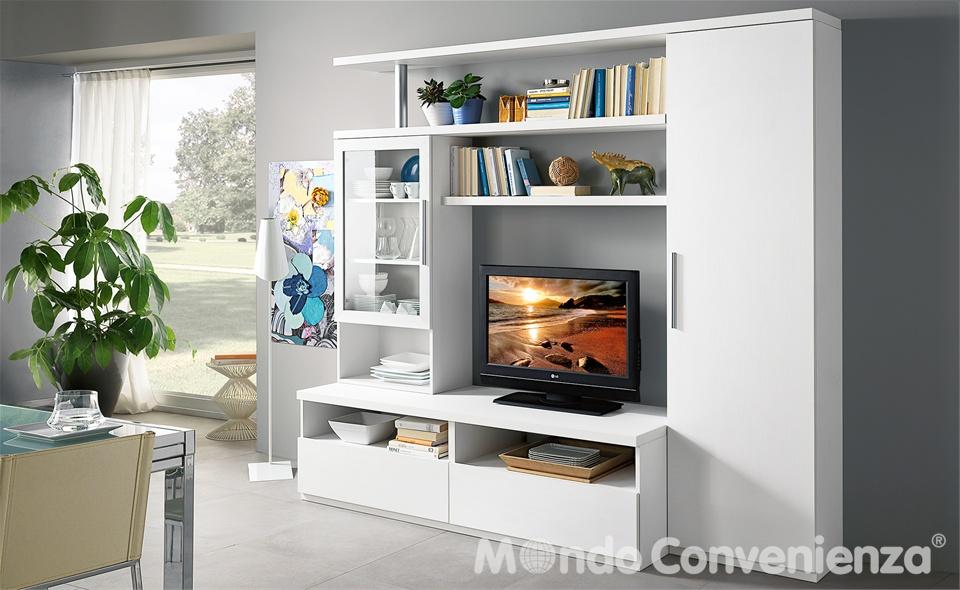 Mobili lavelli soggiorni moderni mondo convenienza for Foto soggiorni moderni