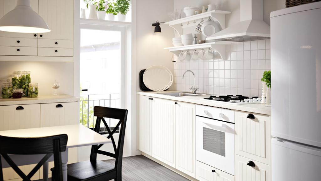 Casa immobiliare, accessori: Cucine ikea bianche