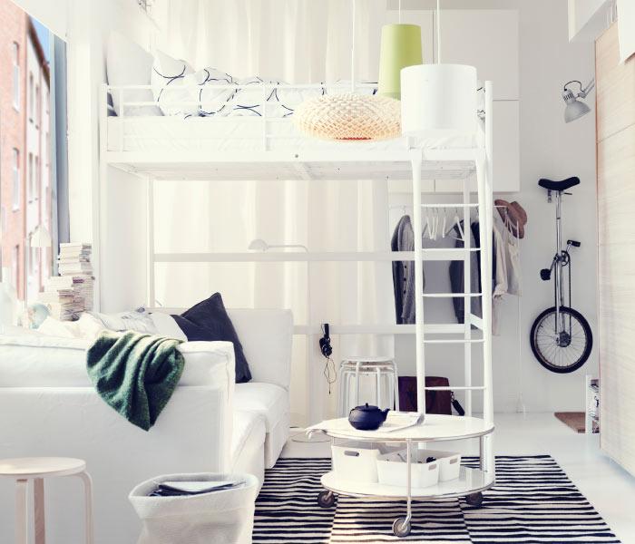 kleine slaapkamer inrichten ikea ikea kleine slaapkamer ideeen ...