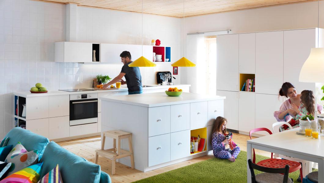 Cucine ikea 2015 penisola design mon amour - Cucina penisola ikea ...
