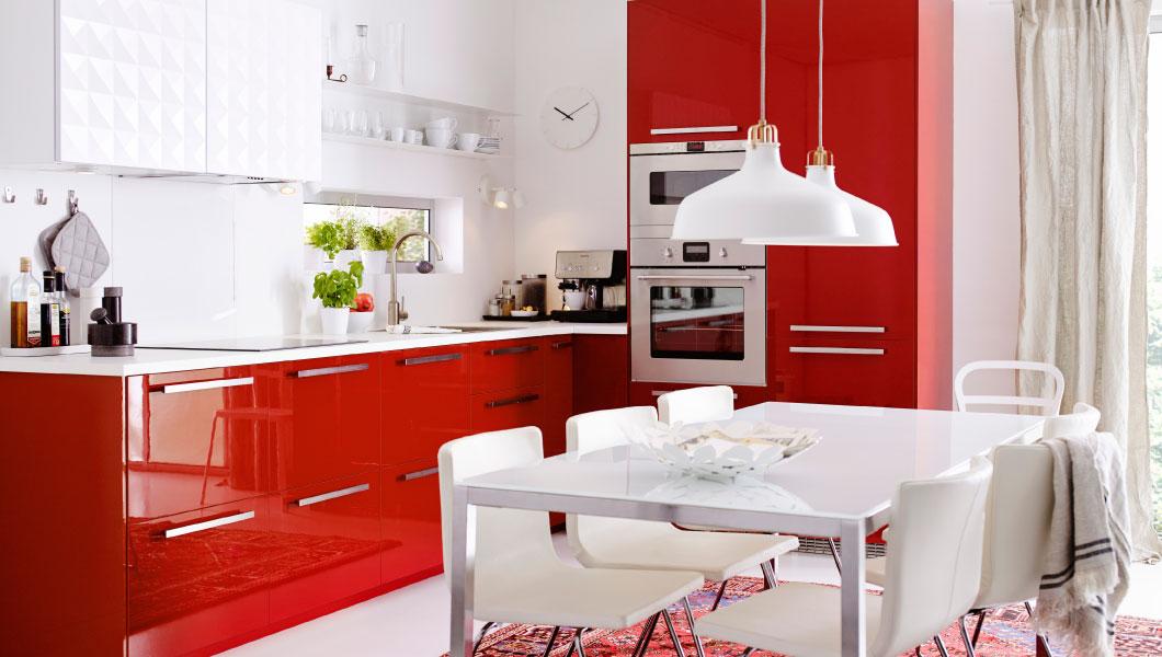 cucine ikea 2015 rosso laccato | Design Mon Amour