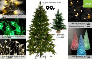 casa shop natale 2014 prezzi alberi di natale