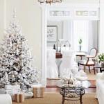 albero di natale 2014 ecologico bianco