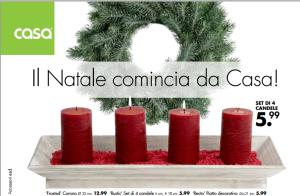 prezzi candele casa shop natale 2014