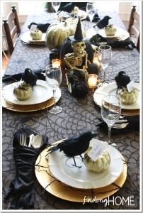centrotavola decorazioni halloween 2014
