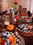 decorazioni halloween 2014 tavola apparecchiata