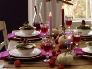 apparecchiare tavola decorazioni halloween 2014