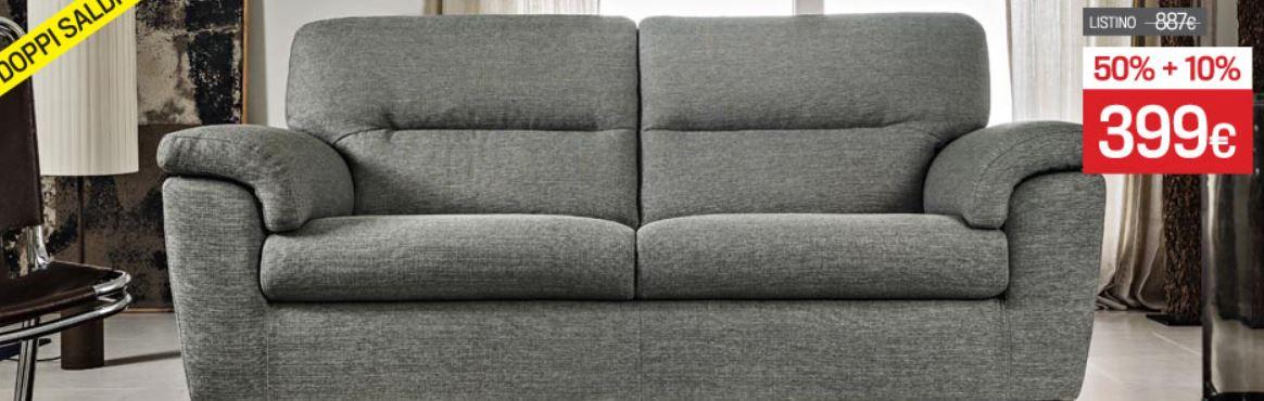 Poltrone sofa doppi saldi fino al 31 gennaio 2015 for Poltrone e sofa divano letto due posti