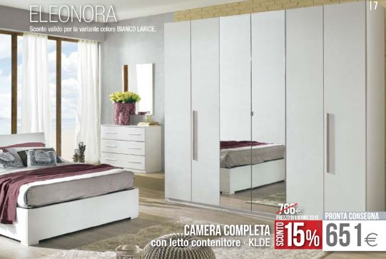 Camera eleonora 2015 mondo convenienza sconto design mon for Letto eleonora mondo convenienza