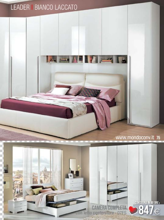 Catalogo mondo convenienza camere da letto 2012 for Letto sommier mondo convenienza