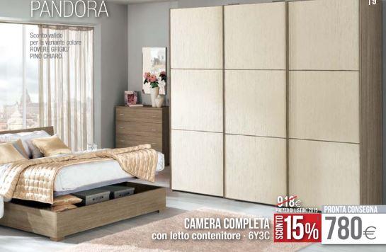 Camera da letto pandora mondo convenienza design mon amour - Camera letto mondo convenienza ...